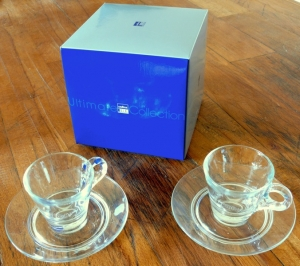 2 tasses Lavazza Blue